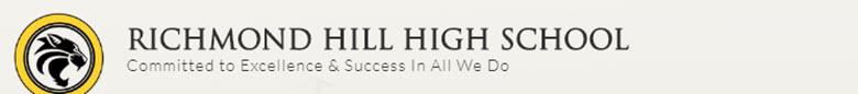 Richmond Hill High School banner