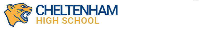 Cheltenham High School banner