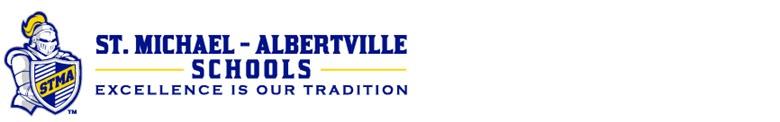 St Michael-Albertville Public Schools banner