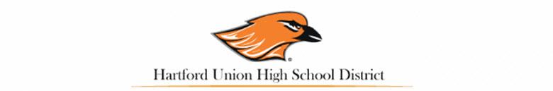 Hartford Union High School banner