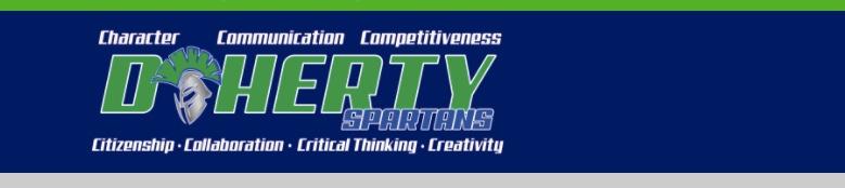 Thomas B Doherty High School banner