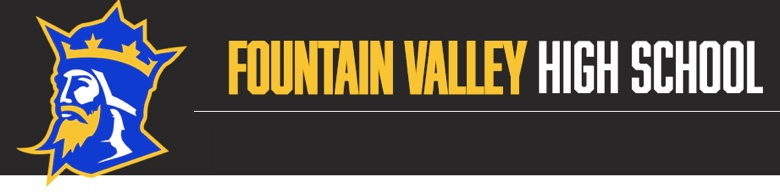 Fountain Valley High School banner