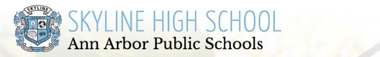 Skyline High School banner
