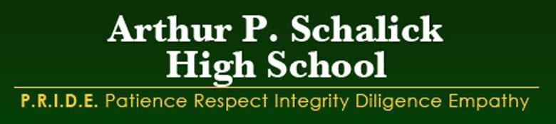 Arthur P Schalick High School banner