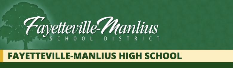 Fayetteville-Manlius High School banner