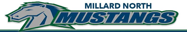 Millard North High School banner