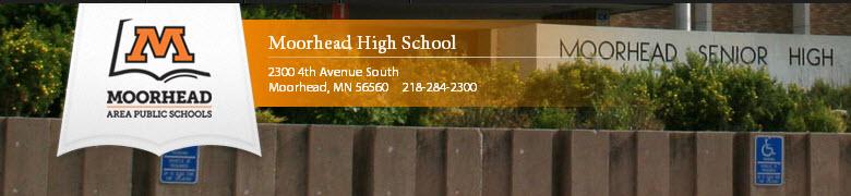 Moorhead High School banner