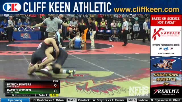 Damien vs patrick wrestling