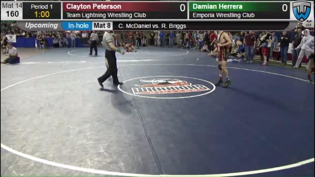 Clayton Peterson   Trackwrestling Profile