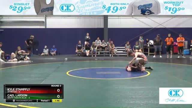 Kyle Stampfly (Attrition) vs Cael Larson (South Dakota Blue)