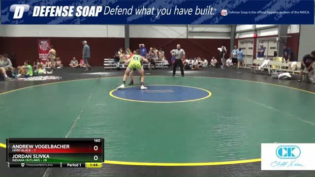 Jordan Slivka (Indiana Outlaws) vs Andrew Vogelbacher (Hero