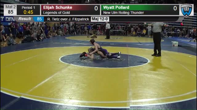 Dawson Eimers (Tea) vs Elijah Schunke (Legends of Gold)