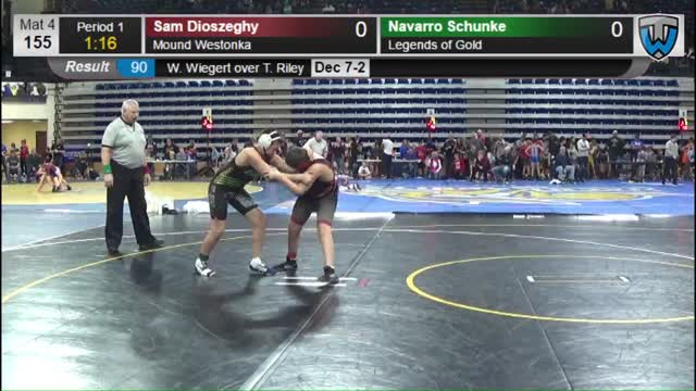 Navarro Schunke (Legends of Gold) vs Sam Dioszeghy (Mound Westonka)