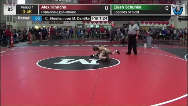Elijah Schunke   Trackwrestling Profile