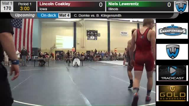 Lincoln Coakley Trackwrestling Profile
