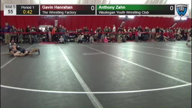 Colton Krueger (Rhinelander) vs Cody McCollough (FWA)
