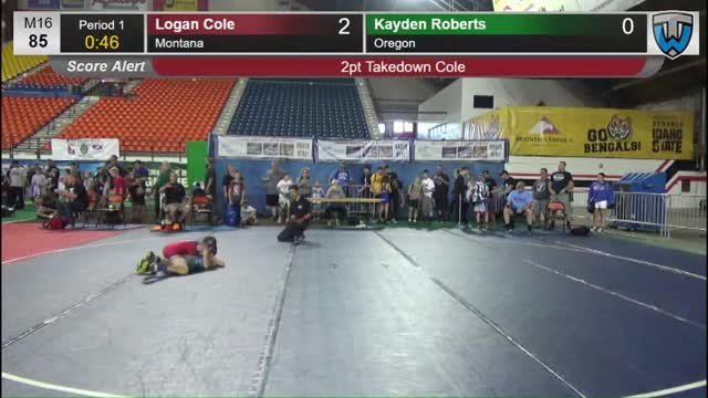 Logan slams kayden