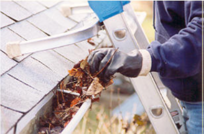 Keep your gutters clear in the winter