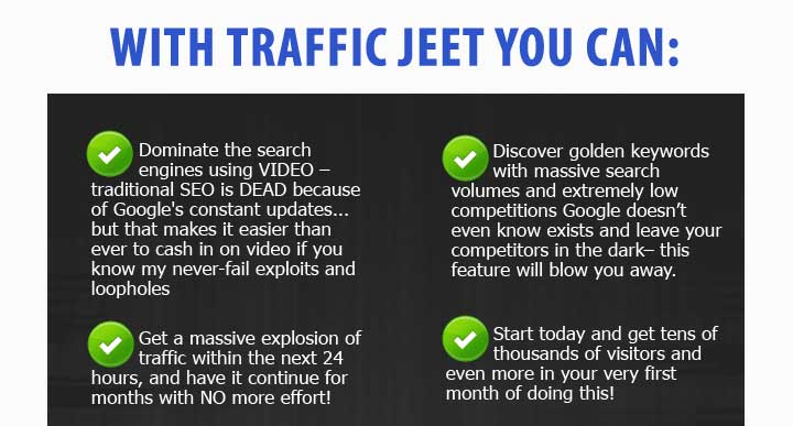Traffic Jeet Features