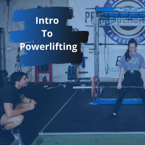 Introduction to Powerlifting Team logo