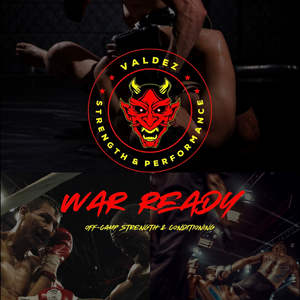 WAR READY (Off-Camp Strength & Conditioning) logo