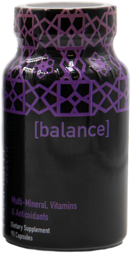 Image of BALANCE from Tranont Health. Balance multi-mineral and vitamin.