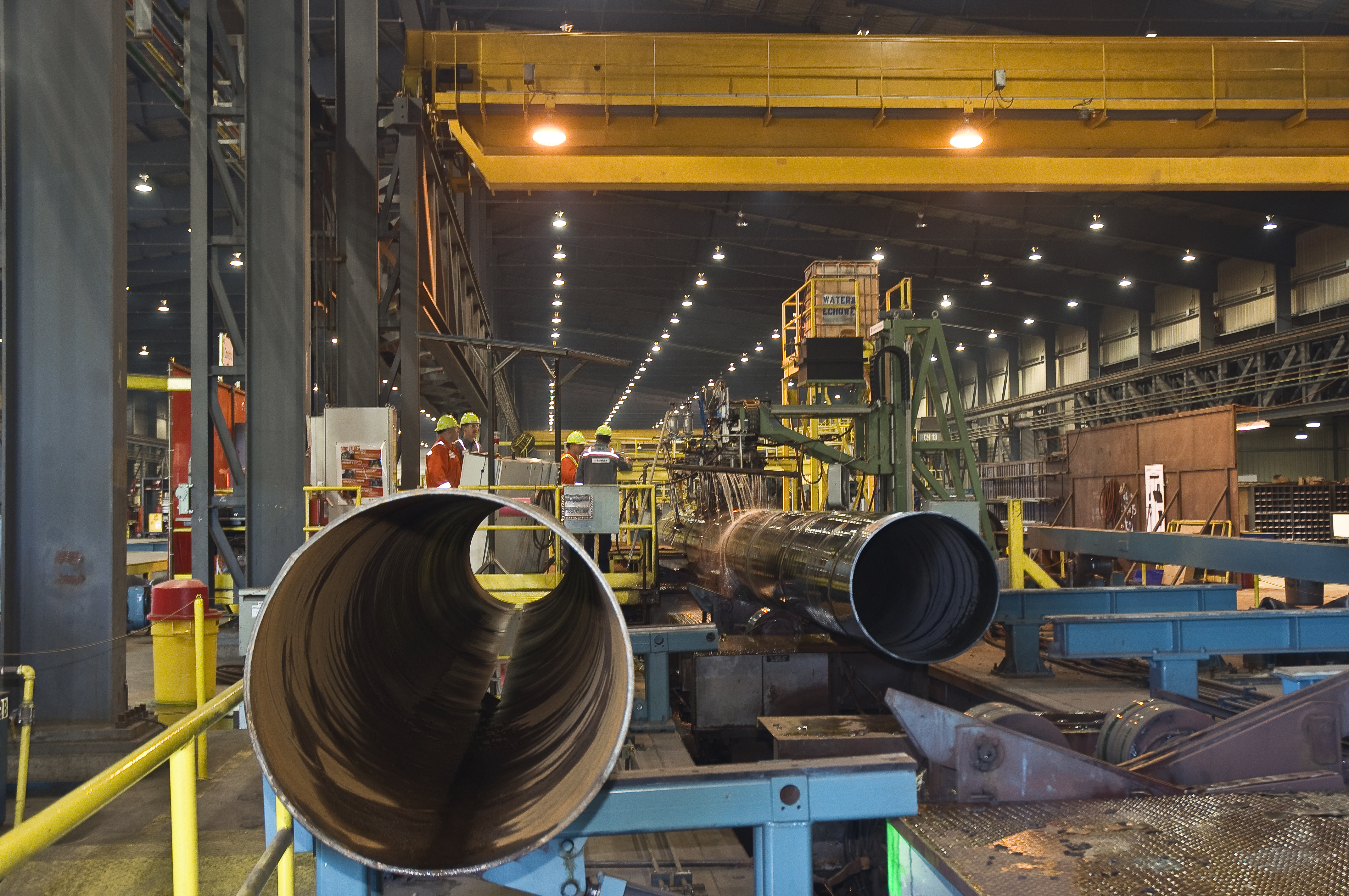 EVRAZ: A World Leader in Pipe Manufacturing - Trans Mountain