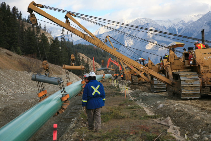 Meet Kiewit-Ledcor Trans Mountain Partnership: Construction