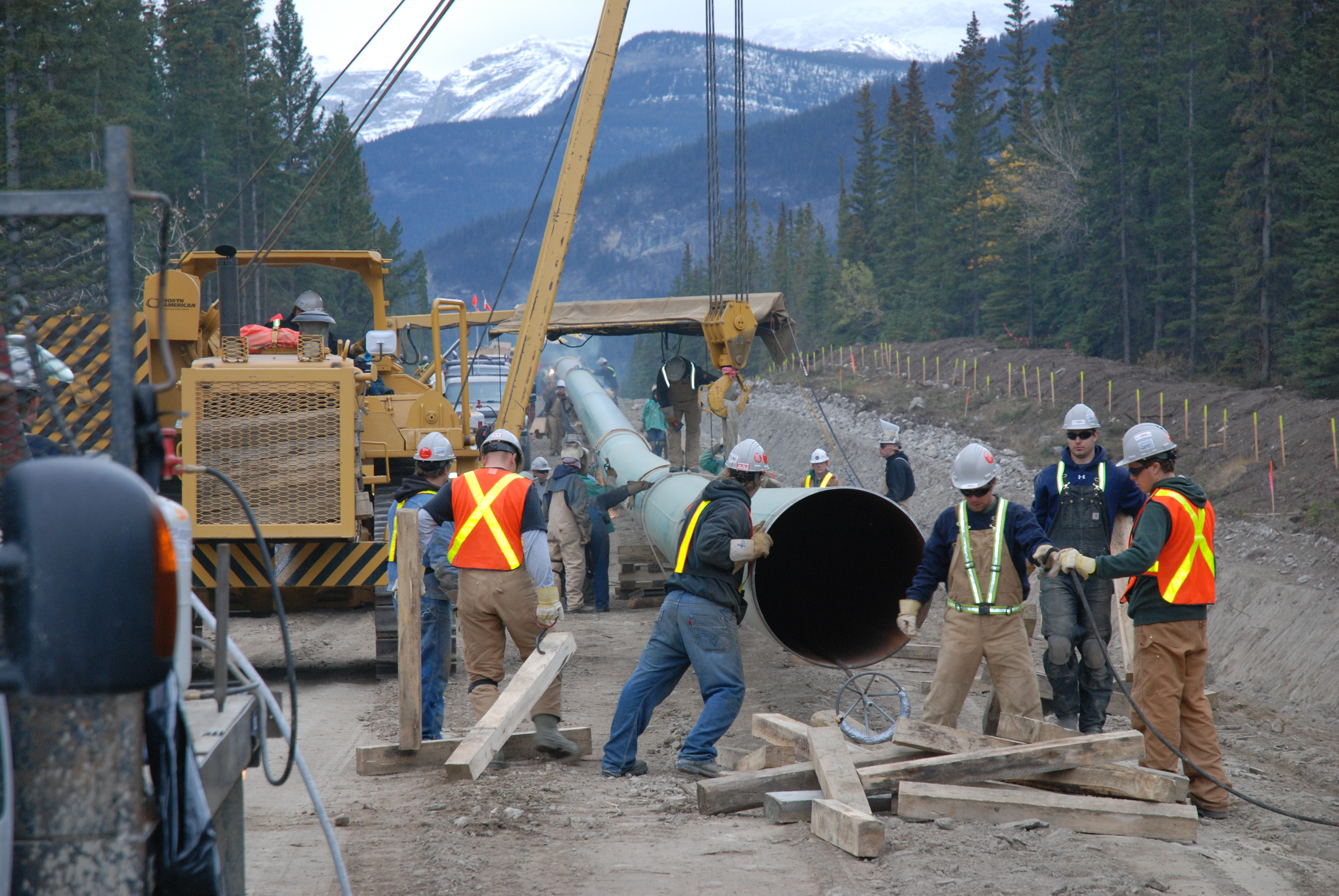 Trans Mountain Announces Contractors For Expansion Project - Trans