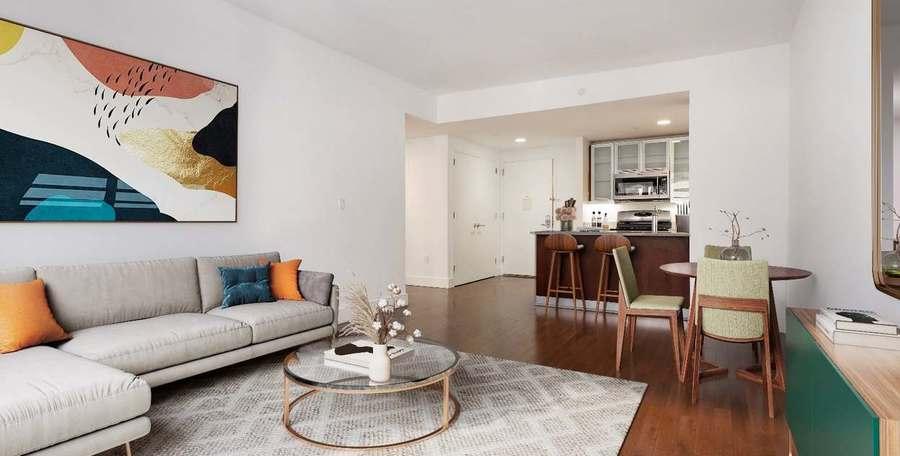 37 west 21st street living room