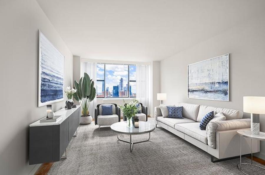 45 west 60th street living room