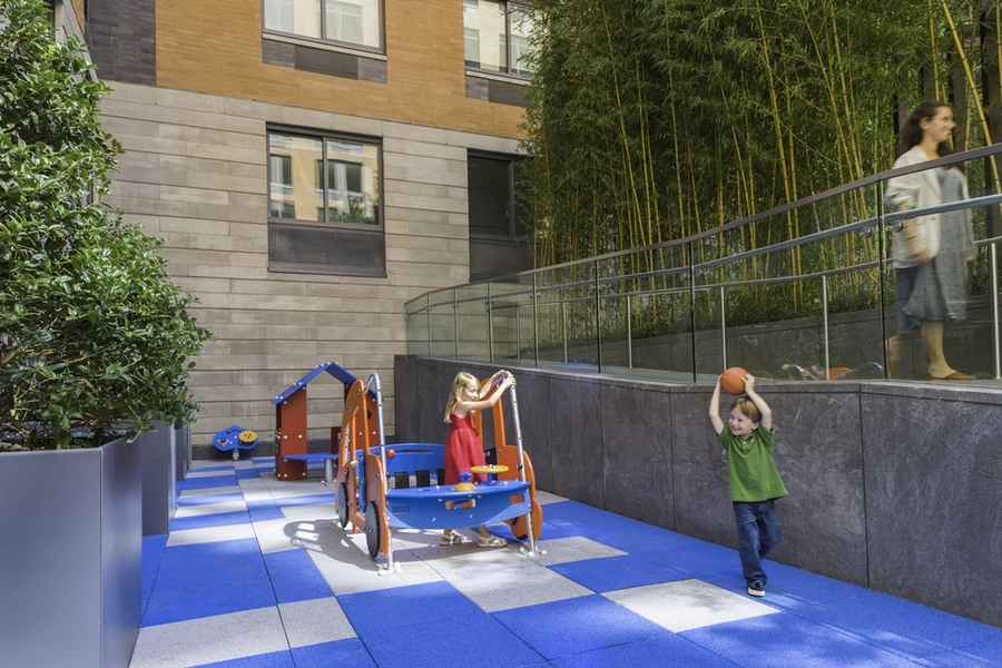 Gotham west childrens playground