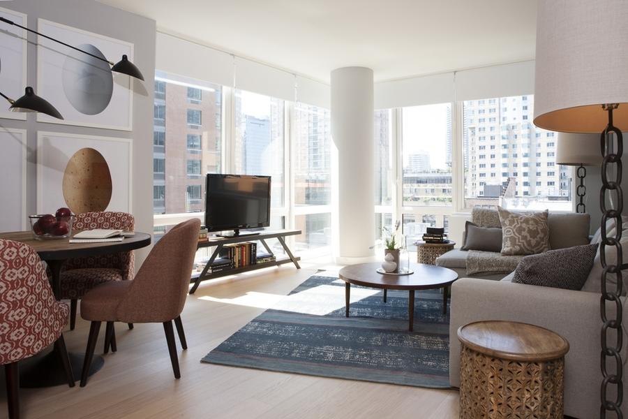 Gotham west living room