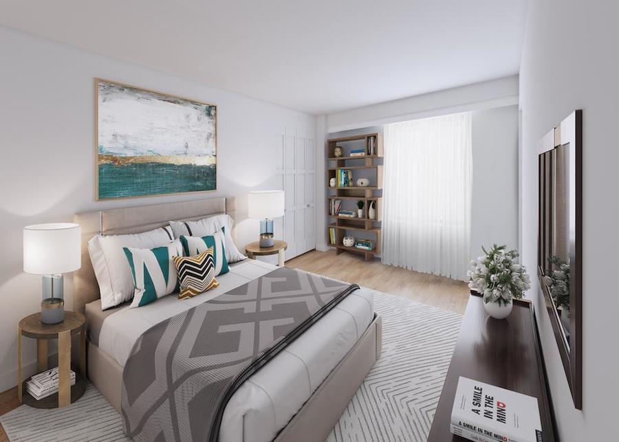 Waterside plaza bedroom2