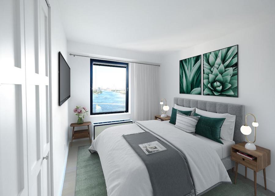 Waterside plaza bedroom4