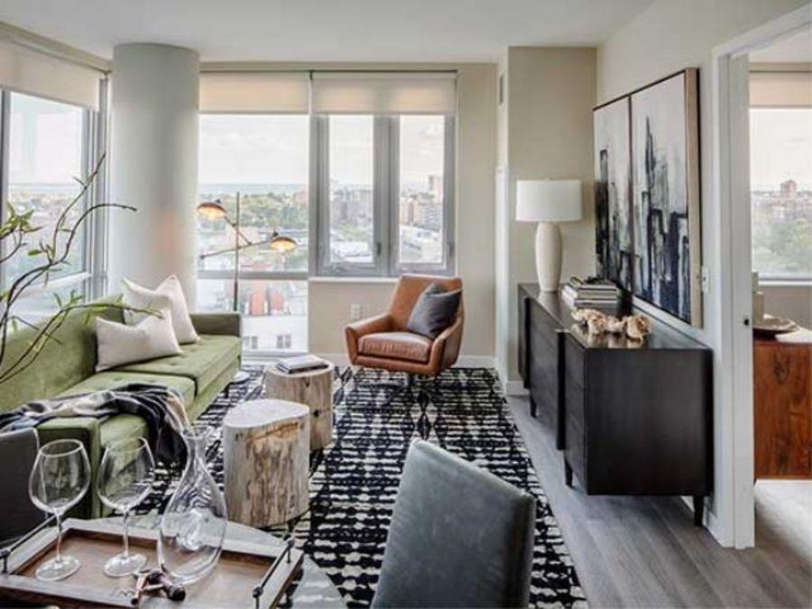 1501 voorhies avenue living room2