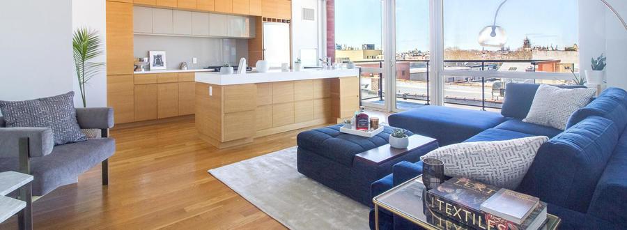 150 fourth avenue living kitchen1