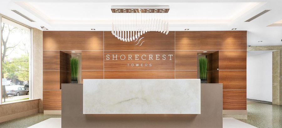 Shorecrest towers lobby