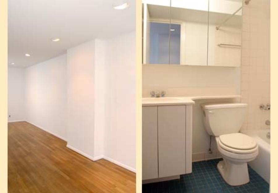 401 east 76th street studio bathroom