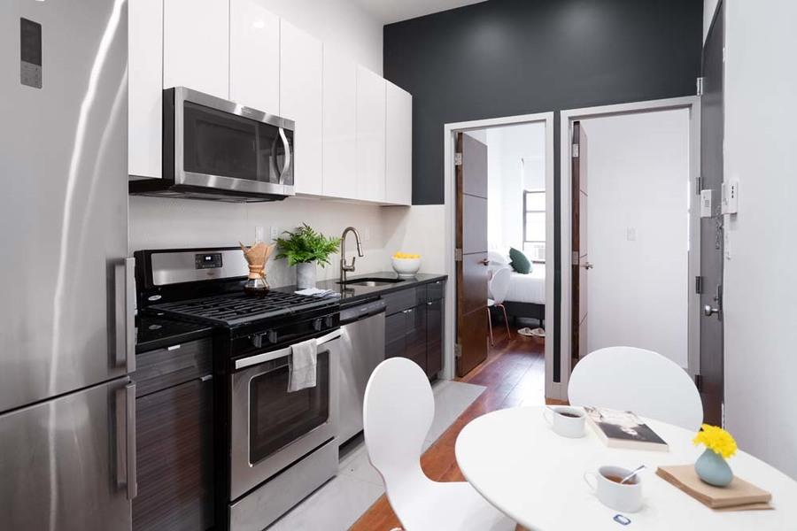 90 starr street communal kitchen