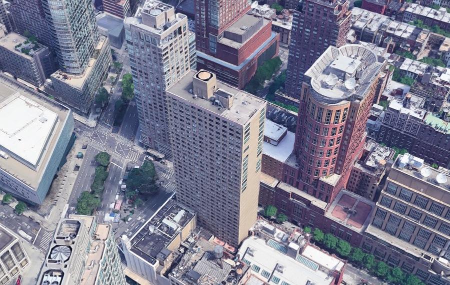 60 west 66th street aerial1