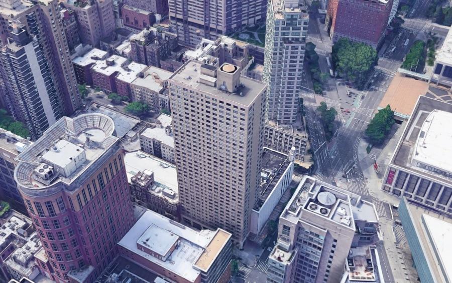 60 west 66th street aerial