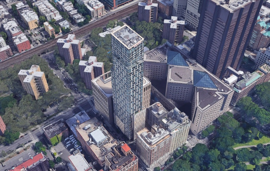 1214 fifth avenue aerial