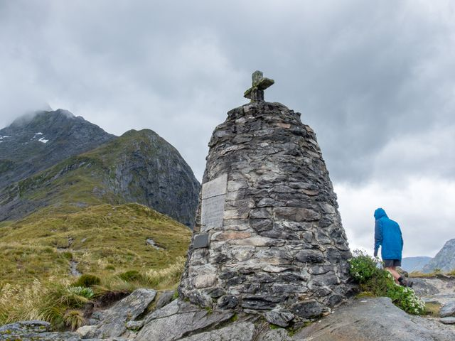 Quintin MacKinnon Memorial Cairn