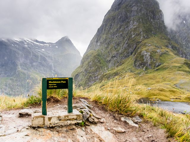 Mackinnon Pass, Milford Track, New Zealand