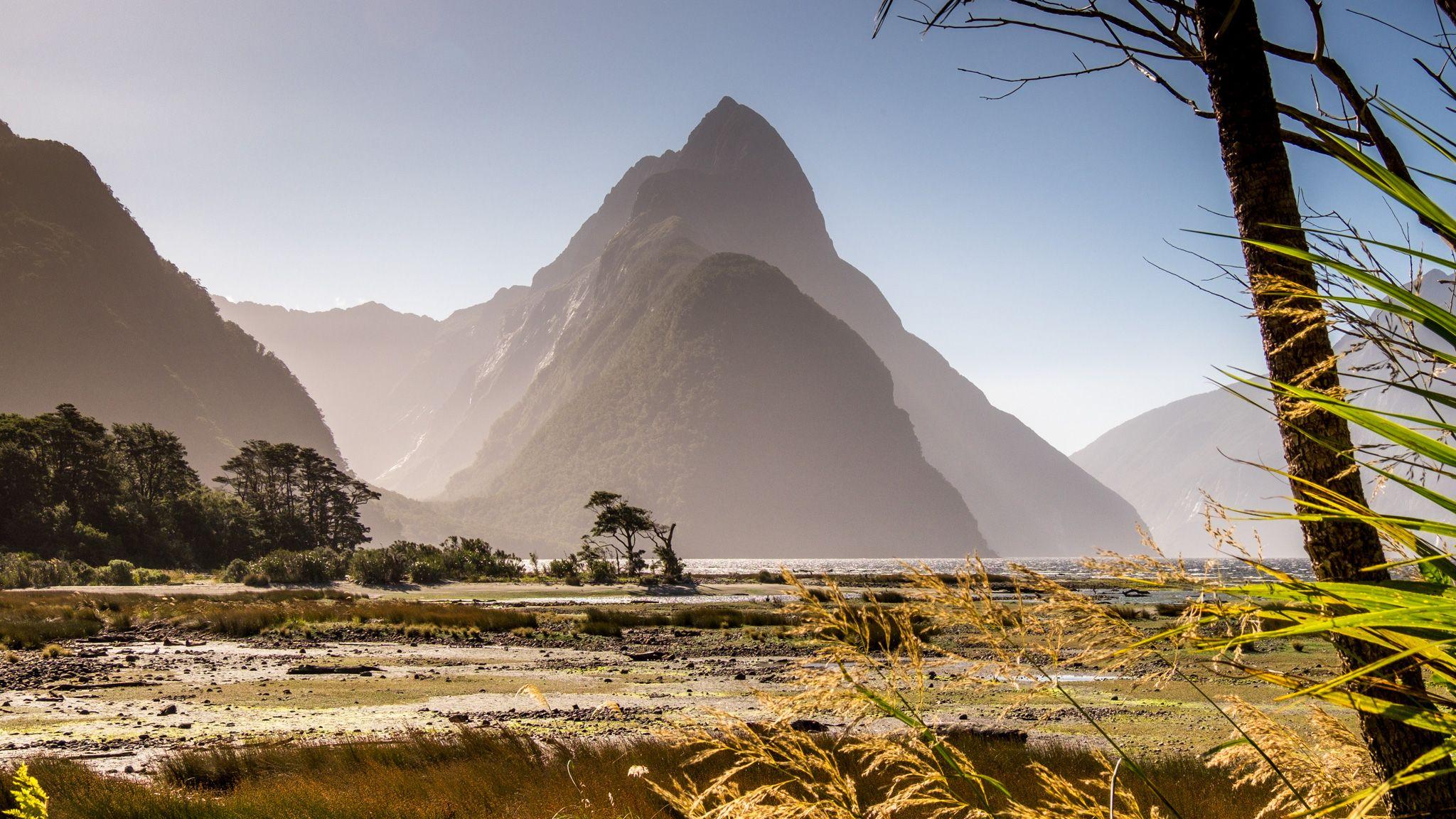 famous Mitre Peak