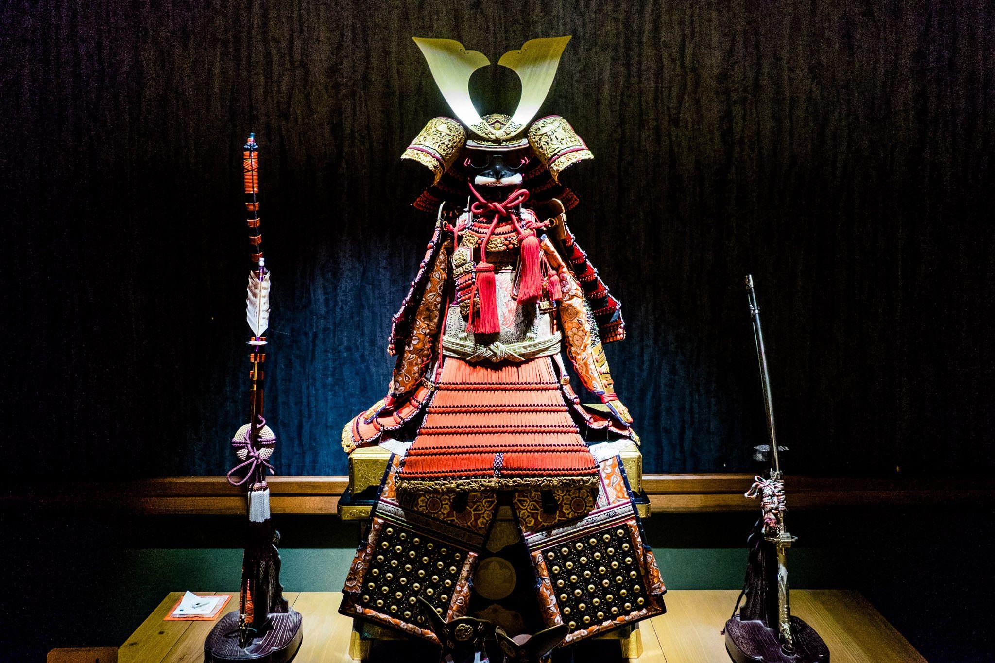 samurai museum - ancient armour