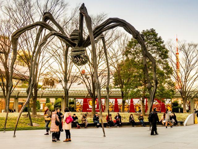 Maman spider at Roppongi Hills, Roppongi, Tokyo