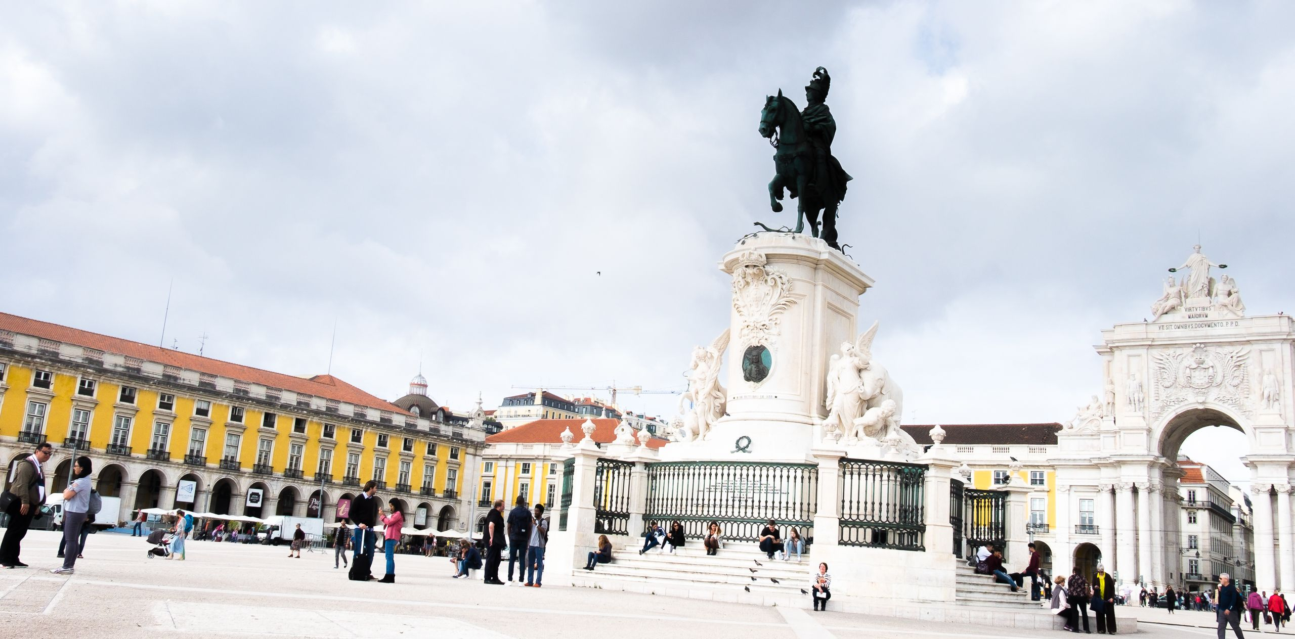 Praca do Comercio, main square of Lisbon
