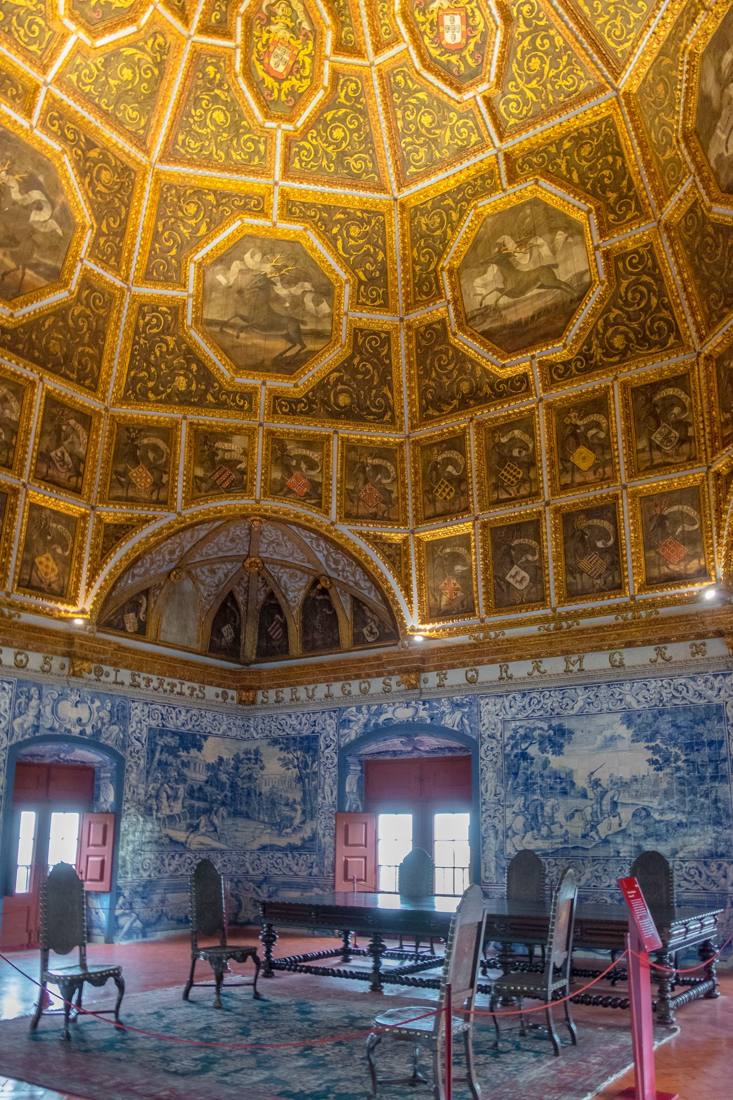 inside the Sintra National Palace